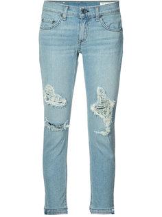 джинсы с потертой отделкой Rag & Bone /Jean
