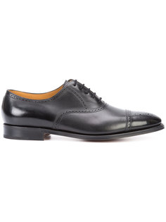 туфли Оксфорды на шнуровке John Lobb
