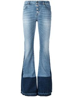 расклешенные джинсы Roberto Cavalli