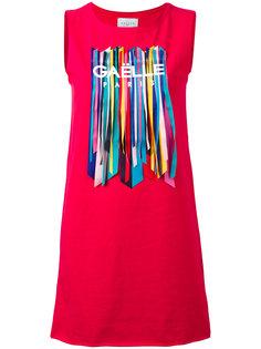 embellished sleeveless T-shirt Gaelle Bonheur