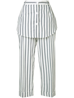 striped skirt trousers  Monse