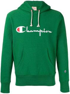 толстовка с логотипом и капюшоном Champion