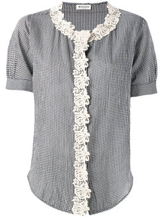 macrame trim shirt Masscob
