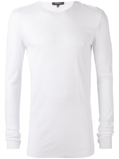 ribbed crew neck T-shirt Unconditional