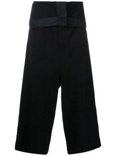 укороченные брюки  Maison Mihara Yasuhiro