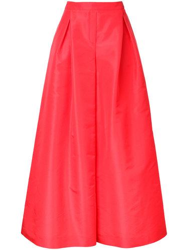 широкие брюки-палаццо Carolina Herrera