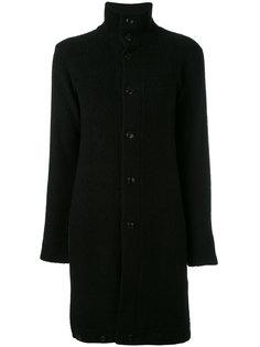 long funnel neck jacket Yohji Yamamoto Vintage