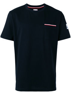 striped chest pocket T-shirt Moncler Gamme Bleu