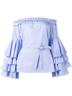 off shoulder ruffle blouse Jour/Né