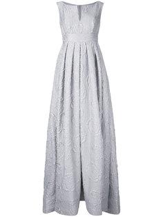 вечернее платье с розами Dice Kayek
