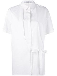 асимметричная рубашка с завязками на поясе Chalayan