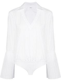 pleated sleeve blouse  Alix