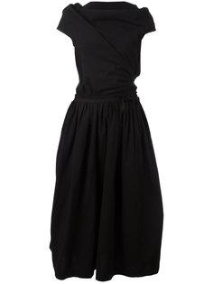 Tricot wrap dress Comme Des Garçons Vintage