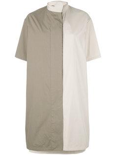 платье с контрастными панелями Chalayan