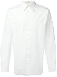 рубашка с заостренным воротником Universal Works