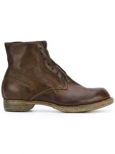 laceless boots Guidi