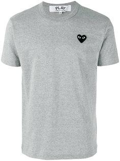 футболка с заплаткой в форме сердца Comme Des Garçons Play