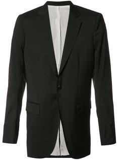 пиджак с застежкой на одну пуговицу Thamanyah