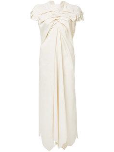 платье с присборенными деталями Aganovich