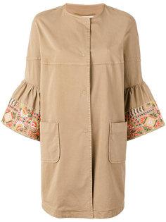 пальто с укороченными рукавами Bazar Deluxe