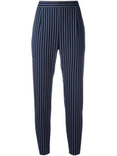 укороченные полосатые брюки Pierre Balmain