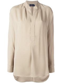 рубашка с воротником-стойкой Polo Ralph Lauren