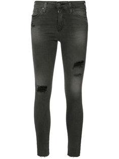 джинсы кроя скинни с рваными деталями Ag Jeans