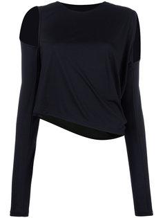 свитер с вырезными деталями Mm6 Maison Margiela