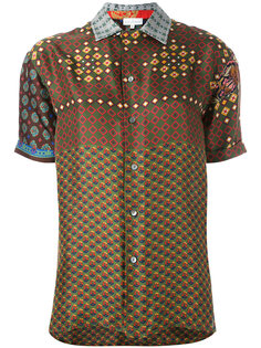 рубашка с узором Pierre-Louis Mascia