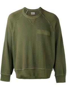 pocket detail sweatshirt  R13