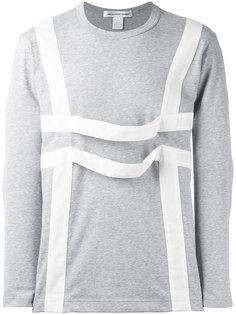 футболка с контрастными лямками Comme Des Garçons Shirt