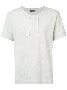 футболка с завязками на вырезе Comme Des Garçons Homme Plus