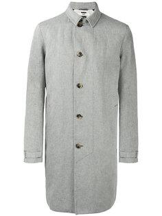 однобортное  пальто Hope