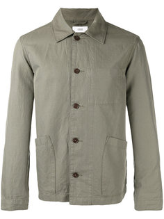 patch pocket shirt jacket Closed