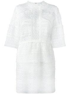платье с отделкой кружевом Iro