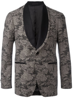 вышитый пиджак с цветочным узором Gabriele Pasini