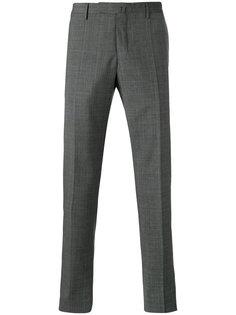 клетчатые брюки Incotex