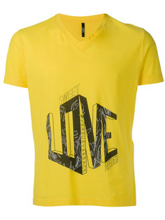 love slogan T-shirt Versus