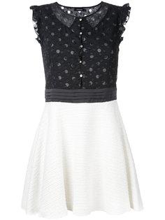 платье с кружевной панелью Loveless