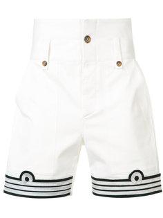 шорты с военной вставкой Ports 1961