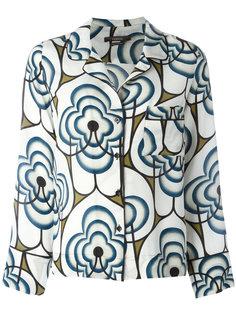 floral print shirt Odeeh