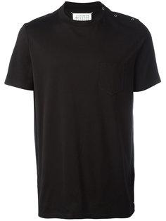 футболка с кнопочной застежкой Maison Margiela