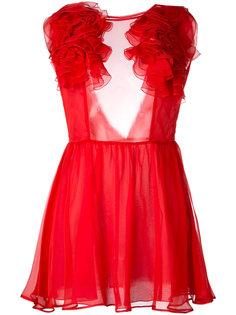 платье с оборками Daniele Carlotta