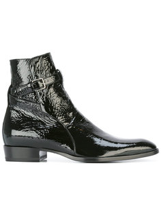 ботинки Signature Wyatt 30 Jodhpur Saint Laurent