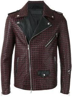 плетеная байкерская куртка  Route Des Garden