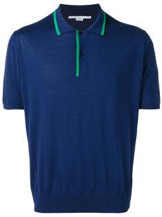 футболка-поло с контрастной окантовкой Stella McCartney