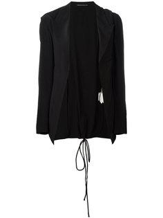 cord lace-up blazer Yohji Yamamoto Vintage