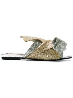 сандалии с блестящей отделкой Nº21