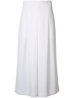 flared cropped trousers Tibi