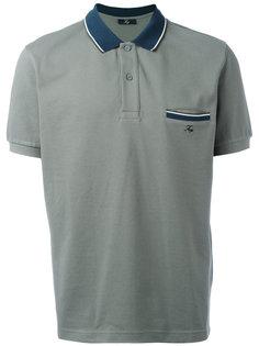 stripe-detailed polo shirt Fay